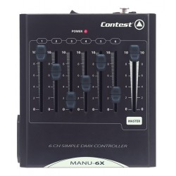 LOCATION CONSOLE 6 CANAUX DMX CONTEST