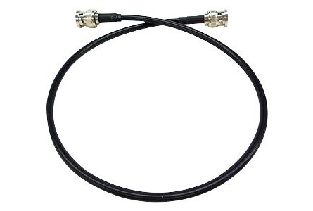 C ble de rallonge d 39 antenne bnc bnc 1 m tre coudrais music light - Rallonge cable antenne ...