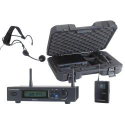 Pack Récepteur UHF + émetteure ceinture + micro serre-tête + malette