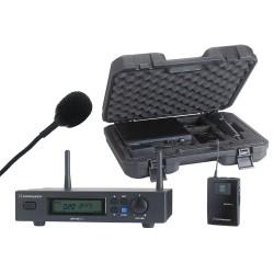 Pack Récepteur UHF + émetteure ceinture + micro Lavalier + malette