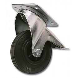 Roulette pivot diamètre 100 mm - Avec frein