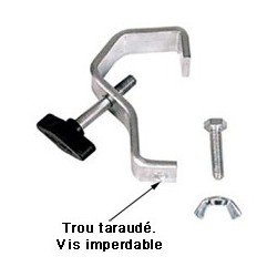 Crochet acier pour tubes de 30 à 50 mm