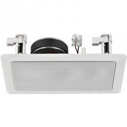 Haut-parleur Public Adress Hi-Fi pour mur ou plafond, 8 Ω