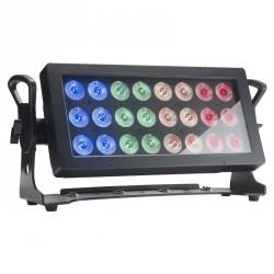 PROJECTEUR 24 LEDS 10W RGBW IP65 CONTEST