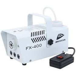 FX-400 - machine à brouillard Amber LEDs