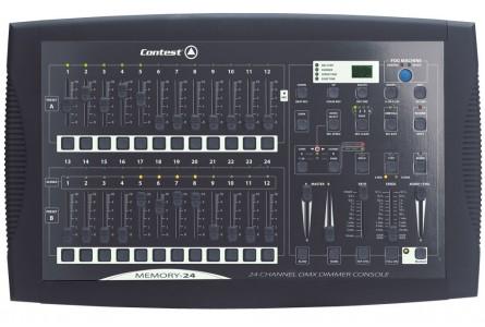 Console dmx 24 canaux