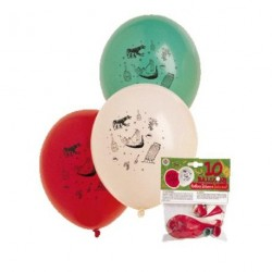 10 BALLONS AMBIANCE ITALIENNE