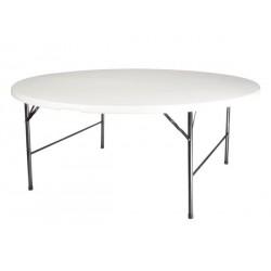 TABLE RONDE PLIANTE diametre 180 cm