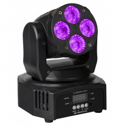 CLUBWASH MINI - Lyre Wash à LED 4x12W RGBWA+U JB SYSTEMS