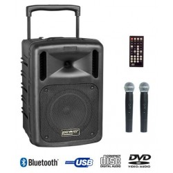 BE 9610 ABS - SONO PORTABLE COMPACT 100W - POWER ACOUSTICS