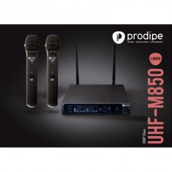 PRODIPE SYSTEME HF DOUBLE MAIN UHF M850 DSP DUO