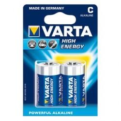 Pile alcaline VARTA LR14 x 2 High Energy