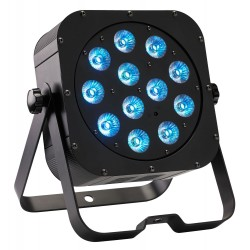 Projecteur compact à LEDs six couleurs